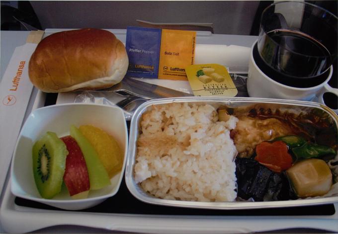 ルフトハンザドイツ航空 機内食
