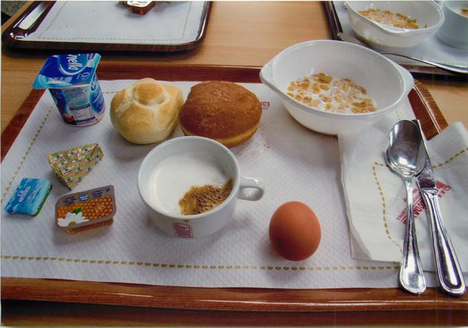 レオナルド・ダ・ビンチホテルの朝食