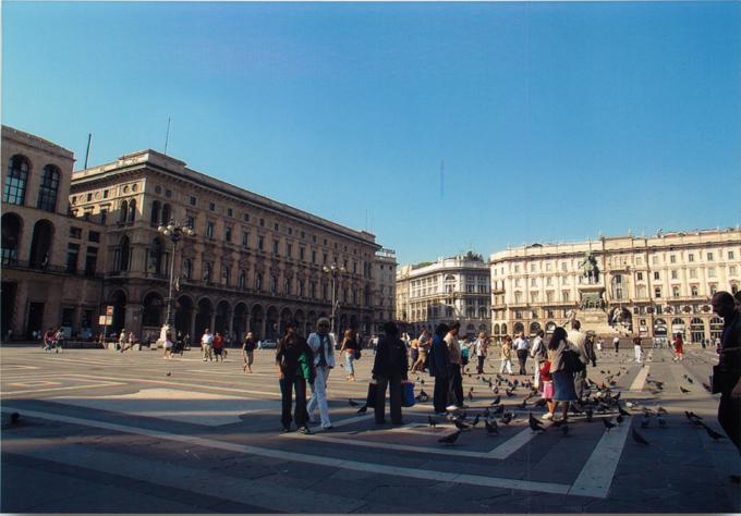 ミラノドゥオモ広場