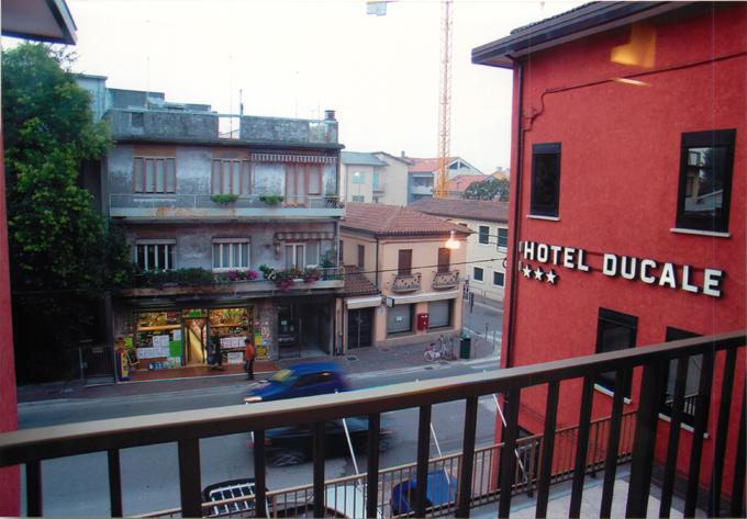 ベネチアのホテルドゥカーレ部屋からの眺め