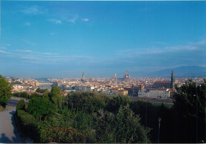 ミケランジェロ広場からの眺め