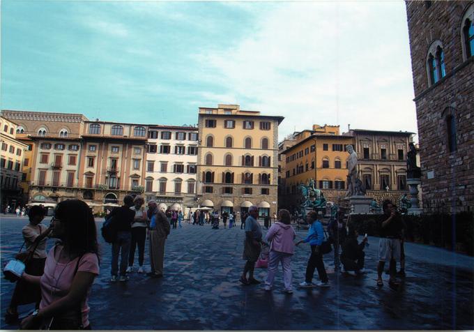 シニョリーア広場(Piazza della Signoria)