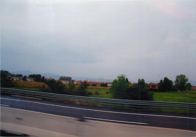 フィレンツェからピサへの高速道路
