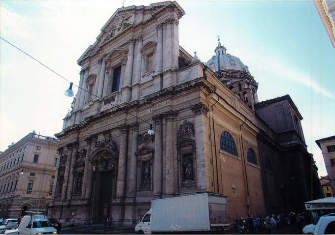 サンタンドレア・デッラ・ヴァッレ教会