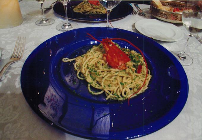 ローマでのディナー